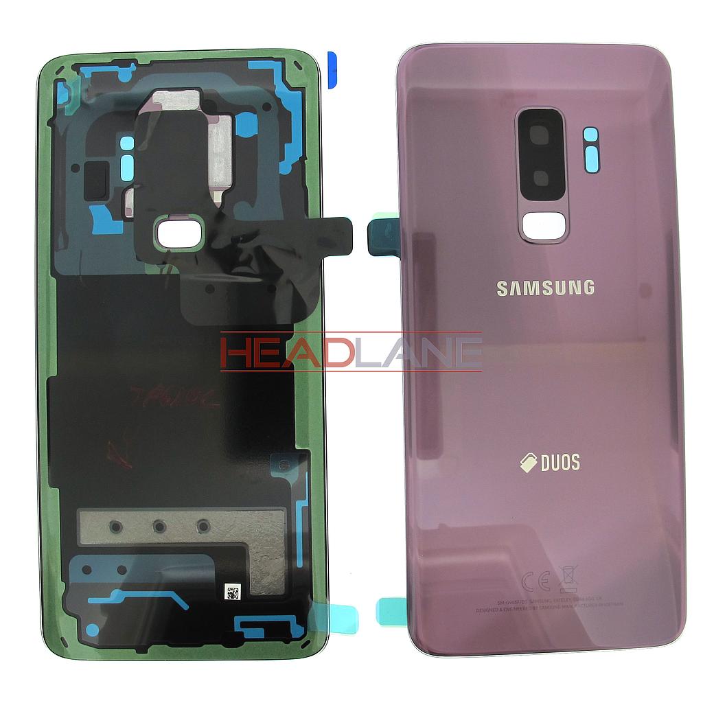 Gh82 15660b Samsung Sm G965f Galaxy S9 Hybrid Sim Battery Cover V G313 Dual Purple