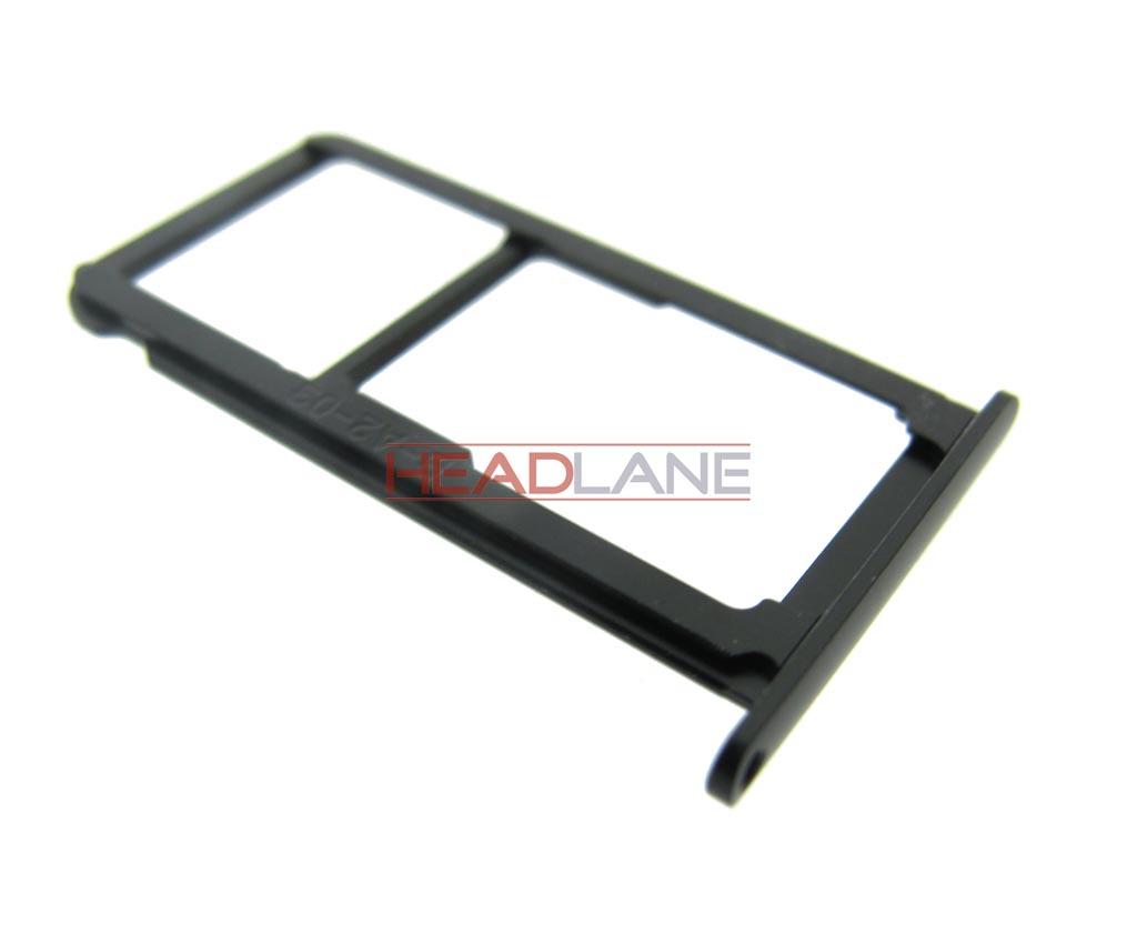 Huawei P10 Sim Karte.Huawei P10 Sim Card Tray Black 51661eaw